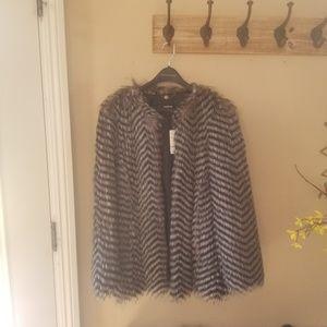 Faux fur Bebe jacket